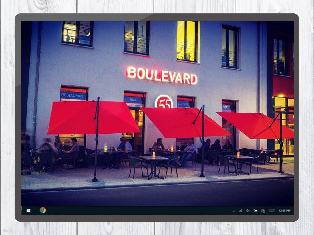 Referenz - Boulevard55