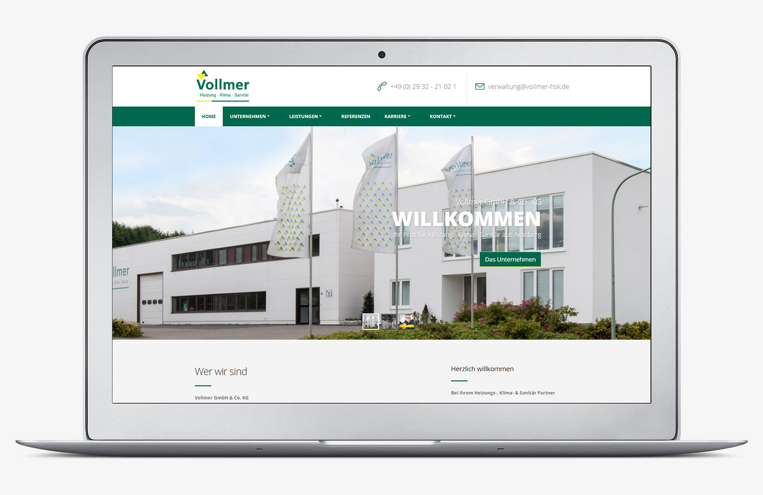 Referenz - Vollmer GmbH & Co. KG
