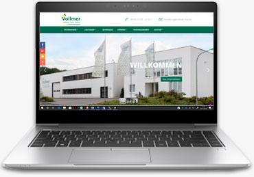 Leistung - Responsive Website / Design