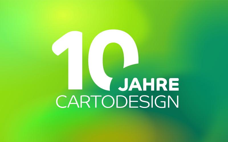 10 Jahre cartodesign